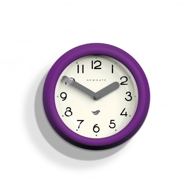 Newgate The Pantry Wall Clock - Purple Pie