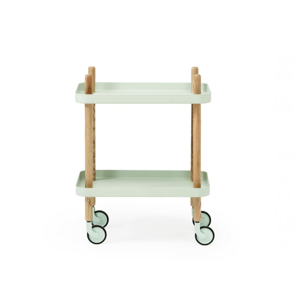 normann copenhagen block side table drinks trolley. Black Bedroom Furniture Sets. Home Design Ideas