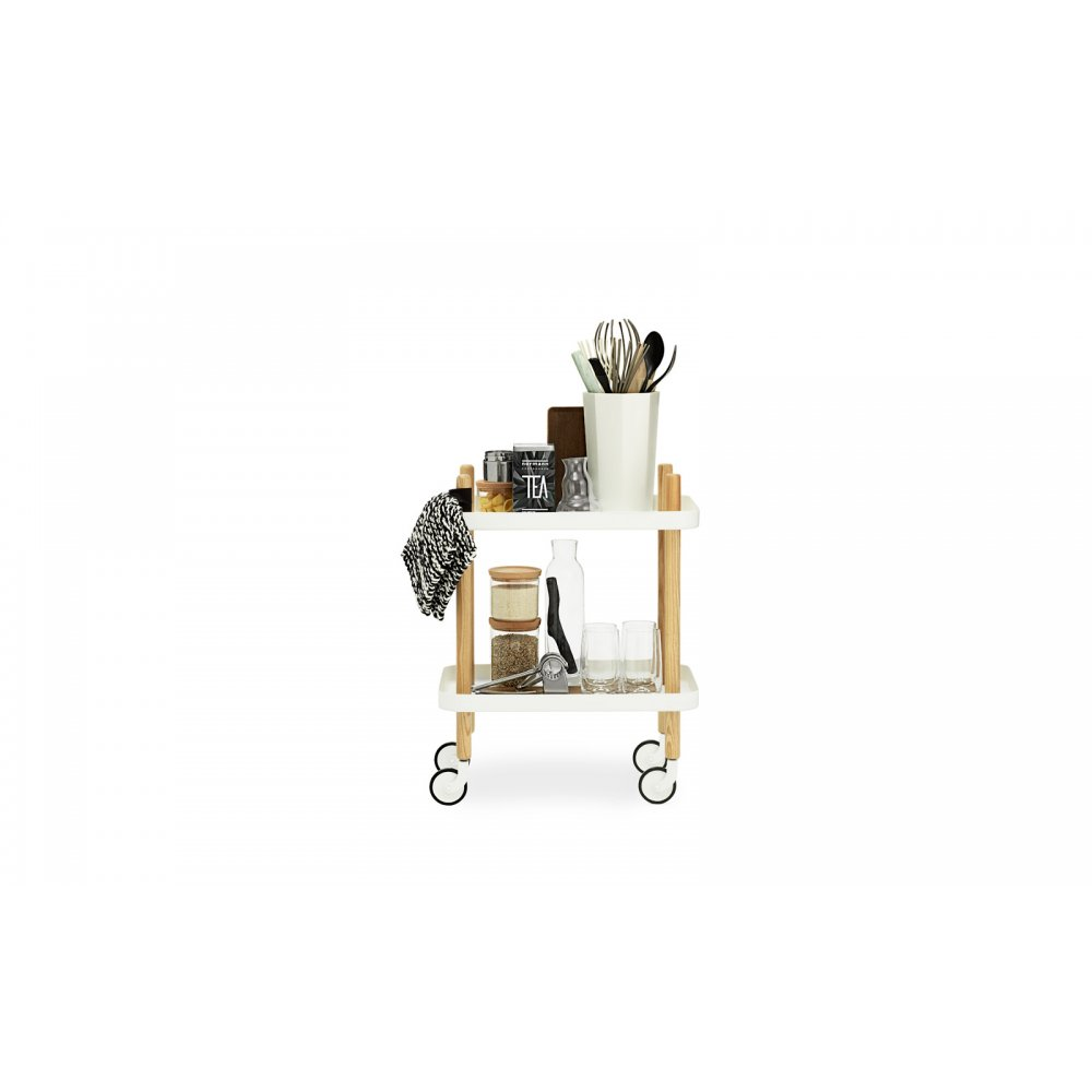 normann copenhagen block side table drinks trolley at. Black Bedroom Furniture Sets. Home Design Ideas