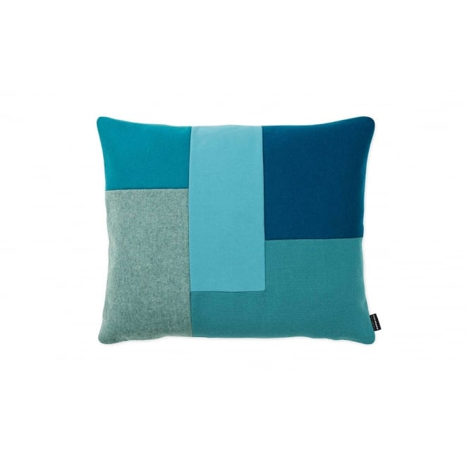 Normann Copenhagen Brick Cushion - Turquoise
