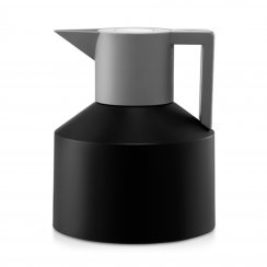 Geo Thermos Flask - Black