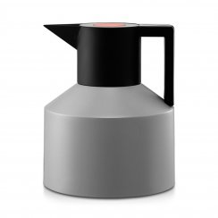 Geo Thermos Flask - Grey