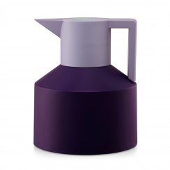 Geo Thermos Flask - Purple