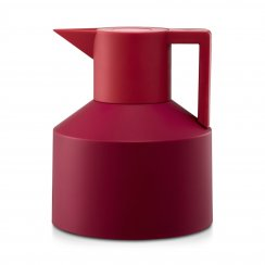 Geo Thermos Flask - Red
