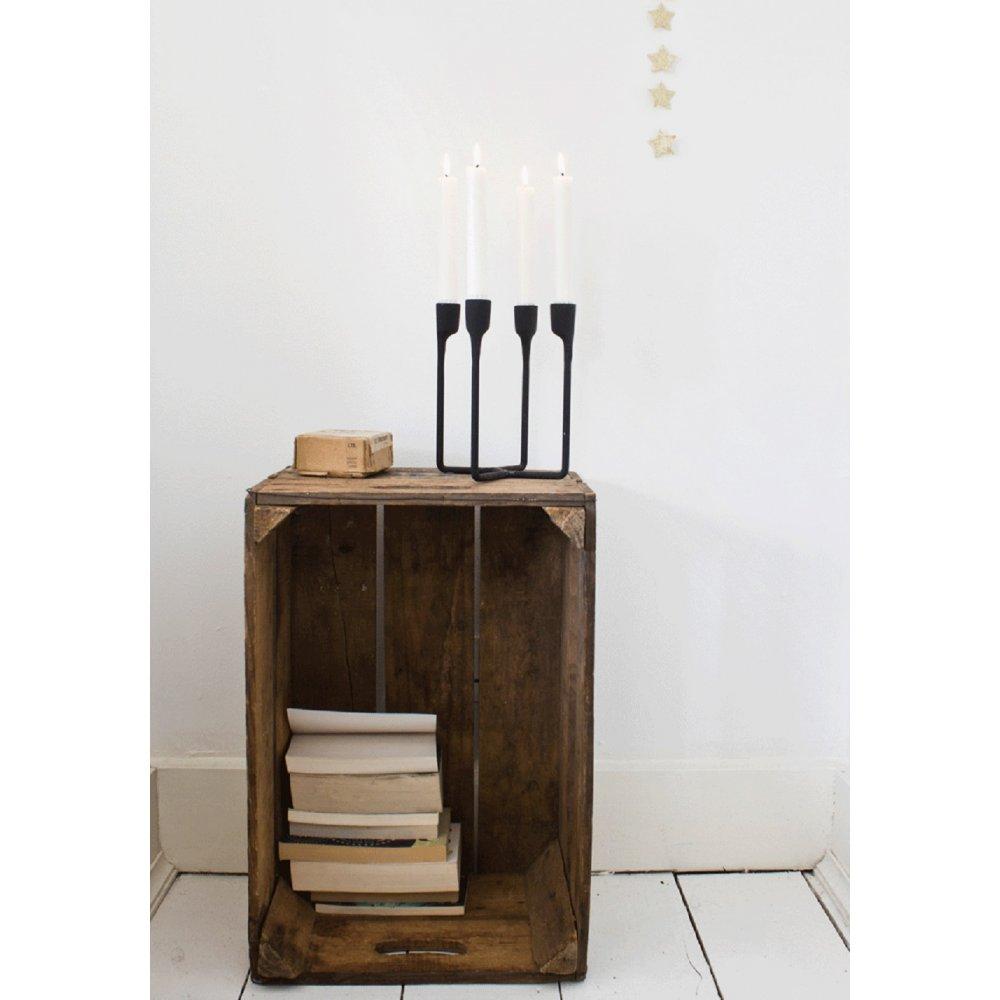329f2949f6 Normann Copenhagen Heima 4 Armed Candleholder | Black by Design