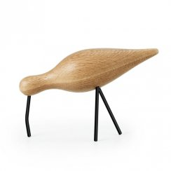 Wooden Shorebird - Large - Black
