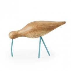 Wooden Shorebird - Large - Sea Blue