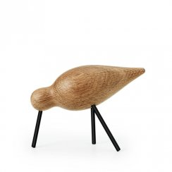 Wooden Shorebird- Medium - Black