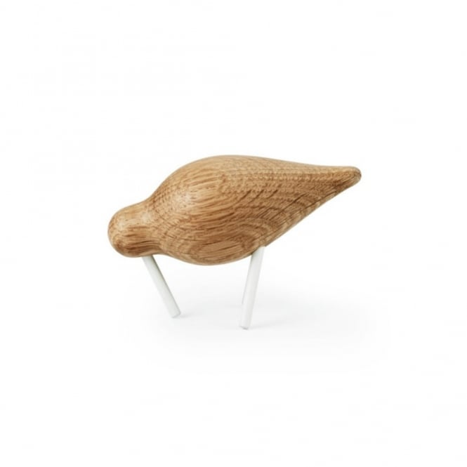 Normann Copenhagen Wooden Shorebird - Small - White