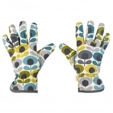 Potting Gloves - Multi Flower Oval Print