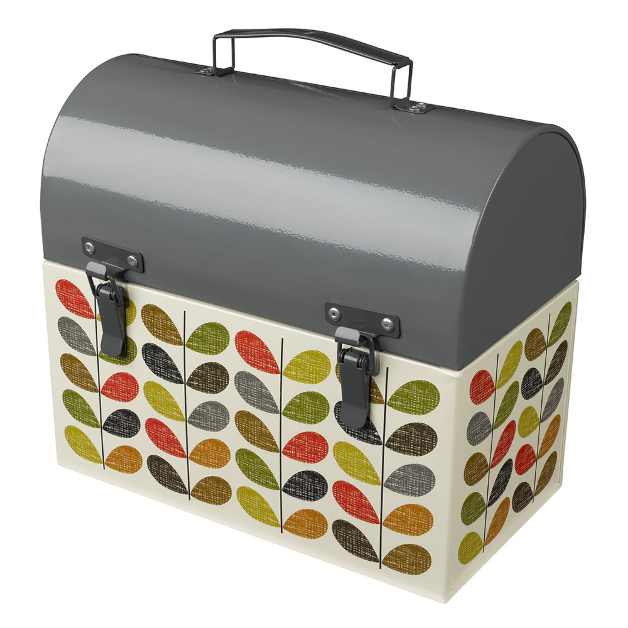 Orla Kiely Scribble Stem Garden Tool Box Black By Design