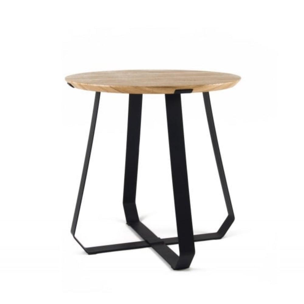 Nieuwe Side Table.Puik Art Shunan Side Table Ash Wood Veneer With Black Legs