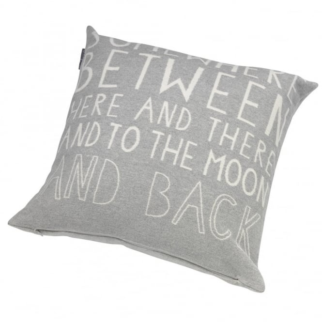 Räder 'Somewhere Between' Cushion/Pillow - Grey