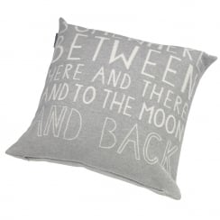 'Somewhere Between' Cushion/Pillow - Grey