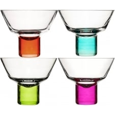 Club Martini Glasses - Set of 4