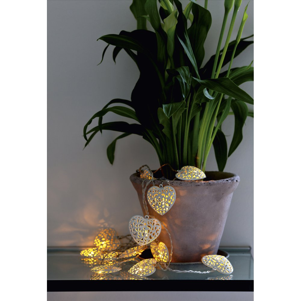Sirius Emily Heart Indoor LED Line Lights At Black-by