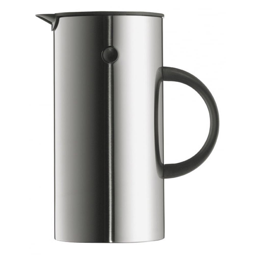 stelton em77 vacuum jug steel 0 5l black by design. Black Bedroom Furniture Sets. Home Design Ideas