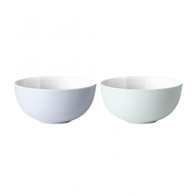Stelton Emma Stoneware Bowls - Set of 2 - Blue