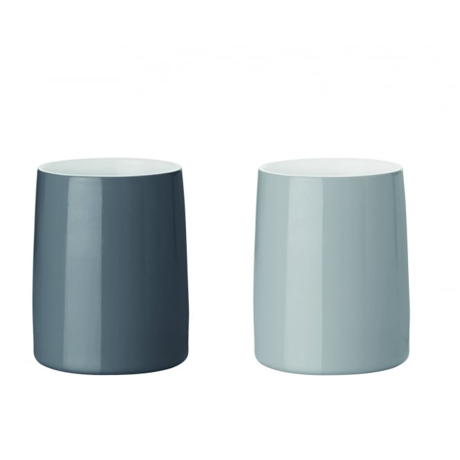 Stelton Emma Stoneware Thermo Cup - Set of 2 - Grey