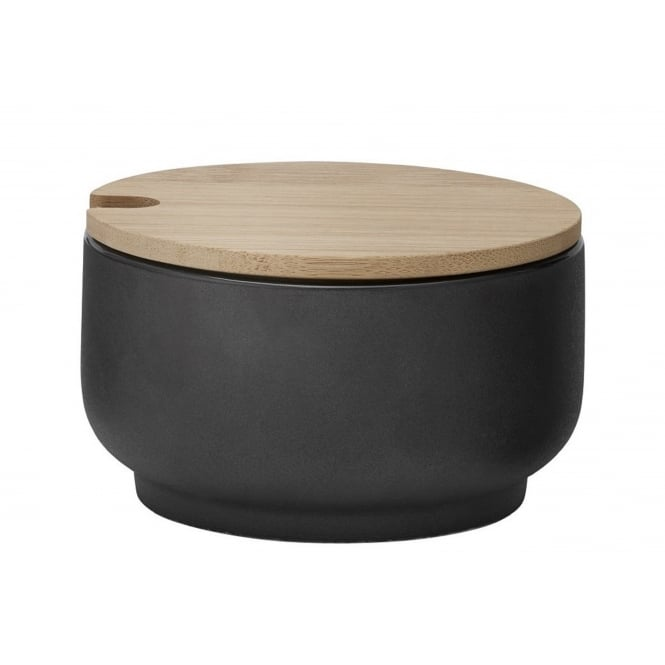 Stelton Theo Sugar Bowl with Bamboo Lid