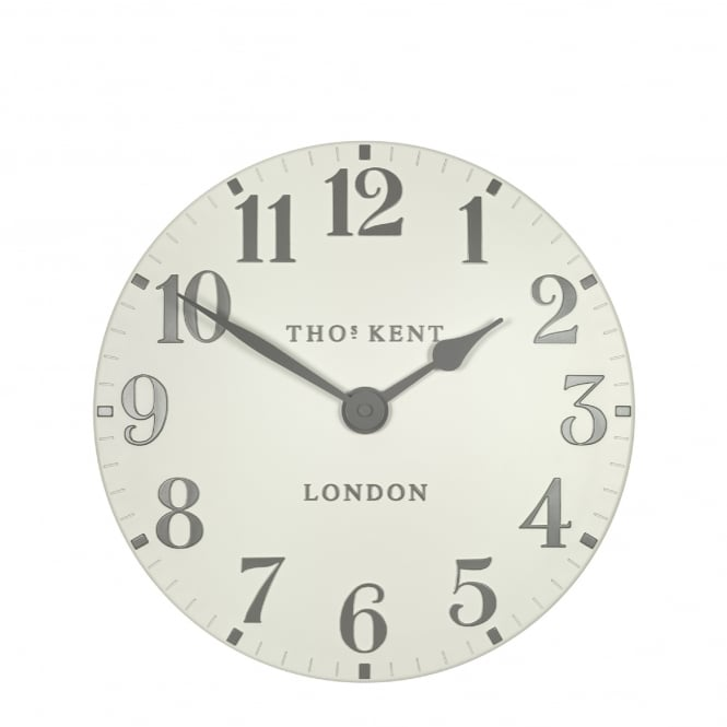 Thomas Kent Arabic Wall Clock - Double Cream