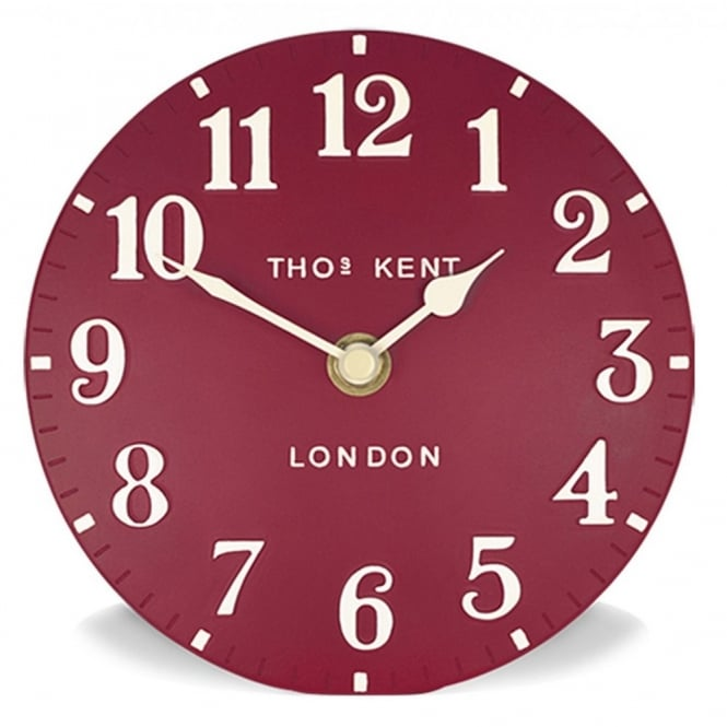 Thomas Kent Arabic Wall Clock - Red