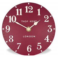 Arabic Wall Clock - Red