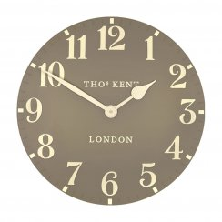 Arabic Wall Clock - Taupe