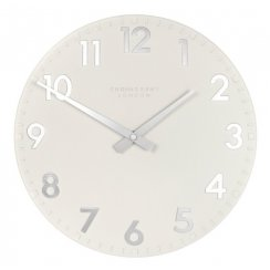 Camden Wall Clock - Snowberry White