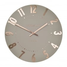 Mulberry Wall Clock - Rose Gold