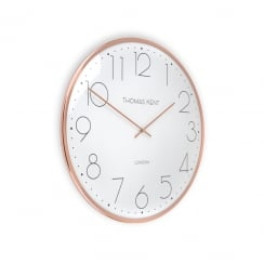 Oyster Wall Clock - 40cm - Copper