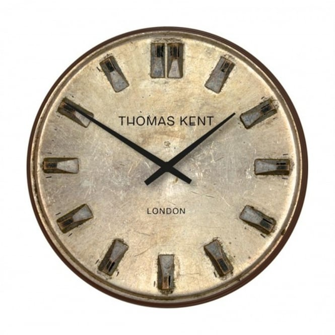 Thomas Kent Shilling Vintage Style Wall Clock - 33cm - Anthracite