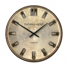 Shilling Vintage Style Wall Clock - 33cm - Anthracite