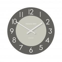 "Townhouse Clock - 12"" - Graphite"