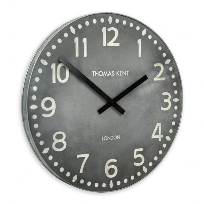Thomas Kent Wharf Wall Clock - 38cm - Lead