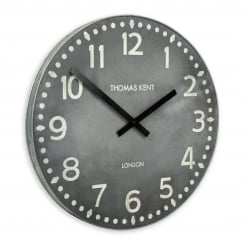 Wharf Wall Clock - 38cm - Lead