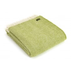 Pure New Wool Beehive Throw - Kiwi