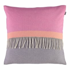 Eloise Grape Luxury 100% Lambswool Square Cushion