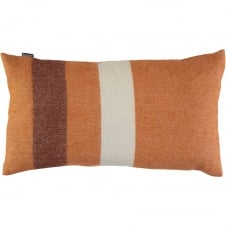 Jessie Ginger Luxury 100% Lambswool Bolster Cushion