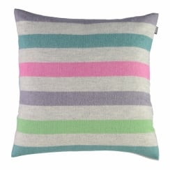 Lottie Crocus Luxury 100% Square Cushion