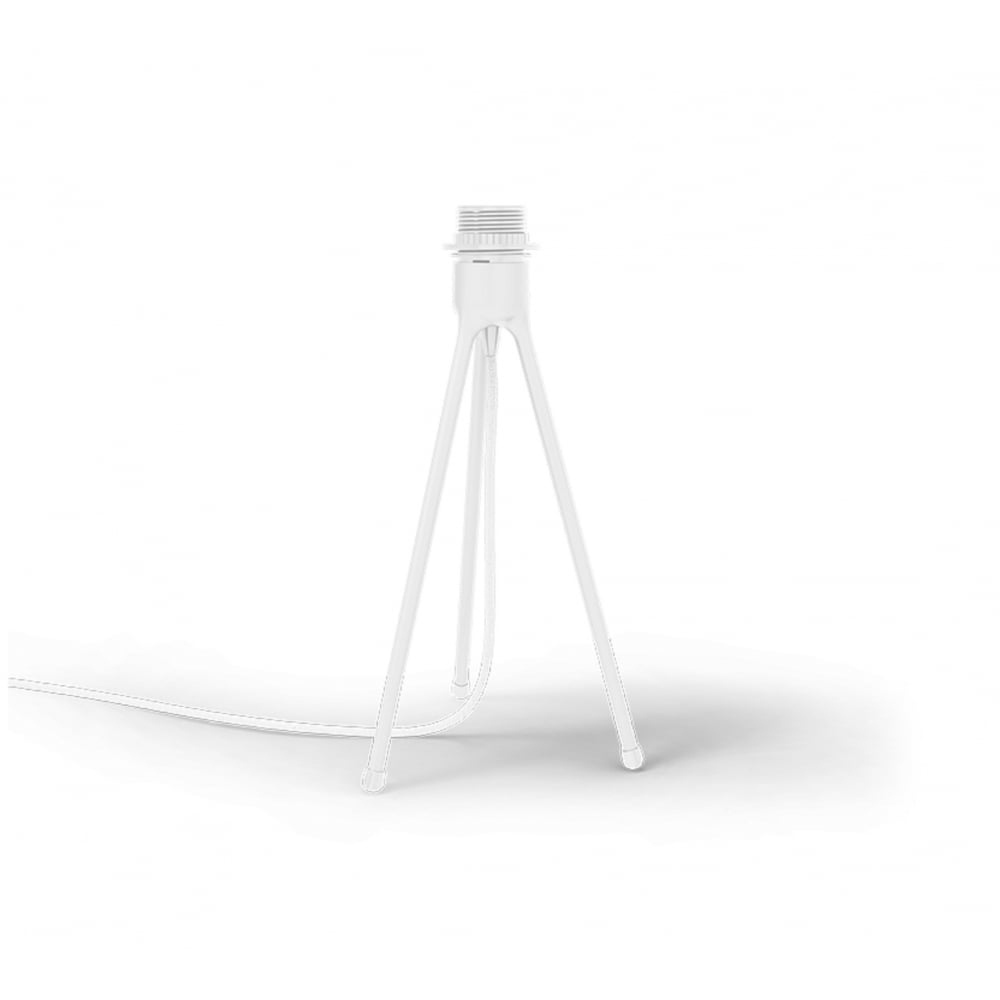 Silvia Tripod Table Lamp   White Silvia/White Tripod