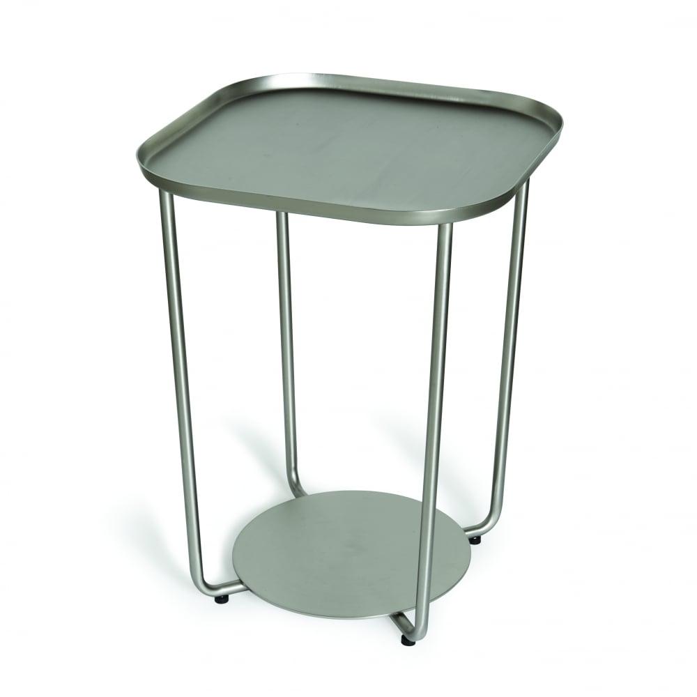 Umbra Annex Side Table Nickel Black By Design