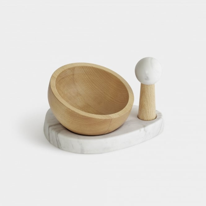 Umbra Crux Mortar and Pestle - Natural