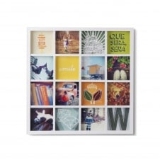 Gridart Instagram Photo Display - White