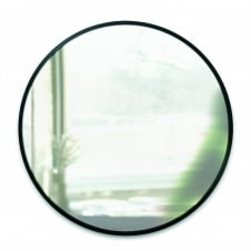 Hub Wall Mirror - Black 24