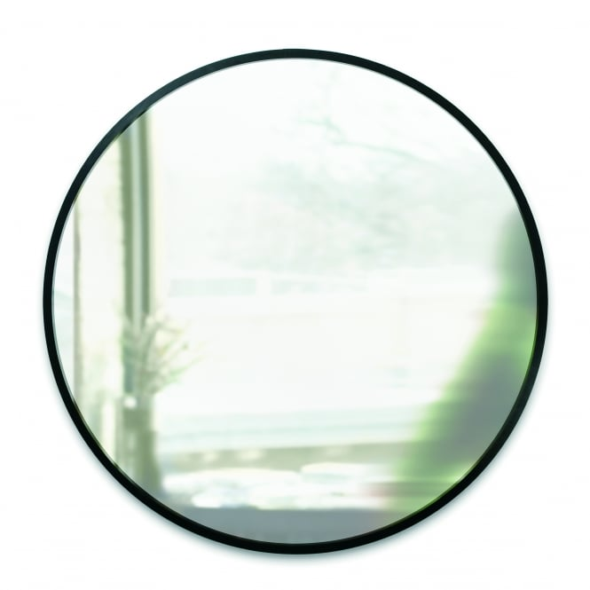Umbra Hub Wall Mirror - Black 37