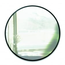 Hub Wall Mirror - Black