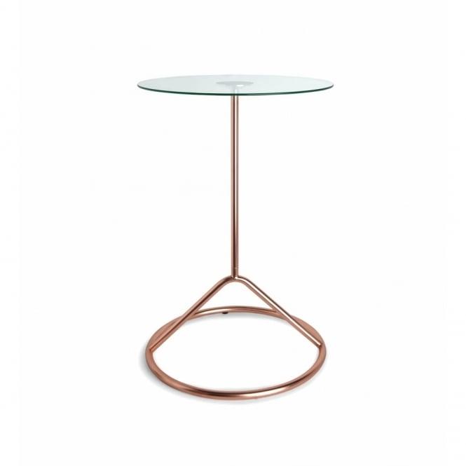 Umbra Loop Side Table Copper Black By Design
