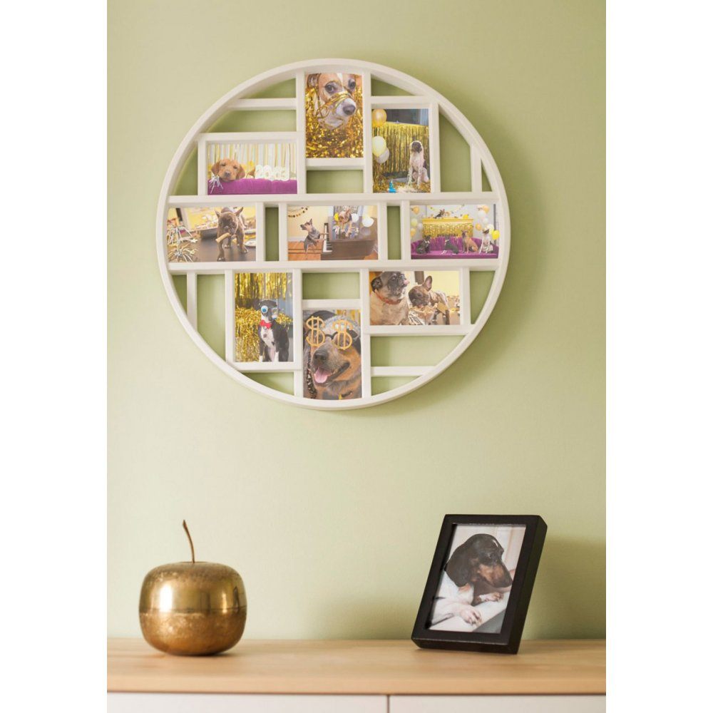 Modcloth Home Decor: Umbra Luna Photo Wall Mounted Multi Frame From Black-by
