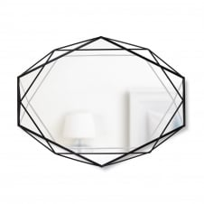 Prisma Wall Mirror - Black